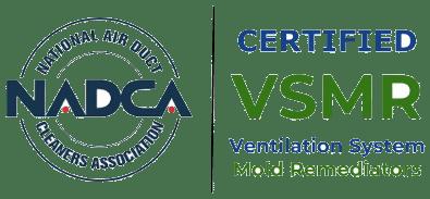 NADCA logo - Certified VSMR