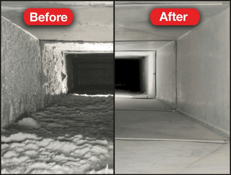 clean air ducts in Frederick MD