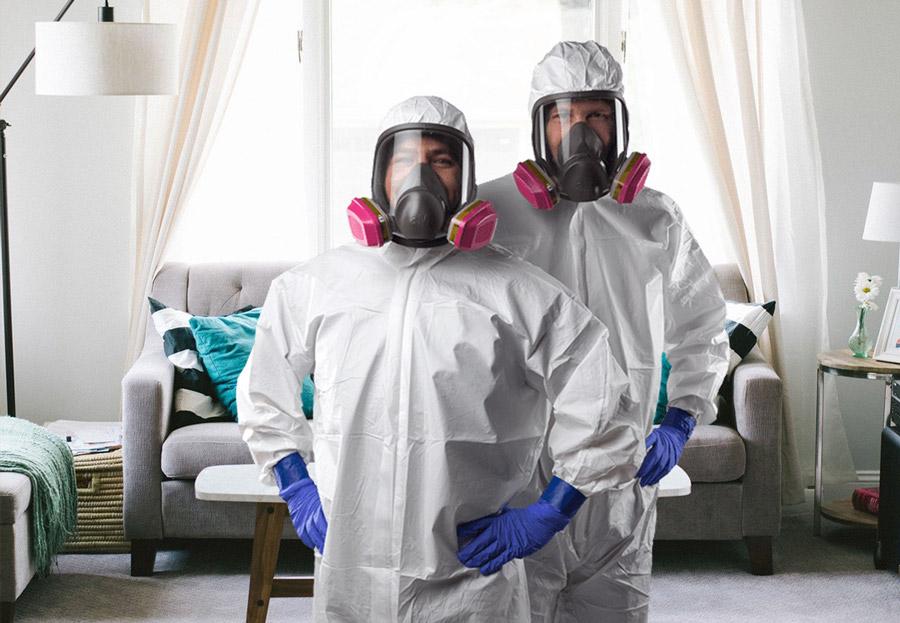 Home disinfection services in Reston VA